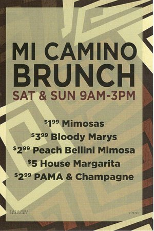 Mi Camino Restaurante: with more options to choose from
