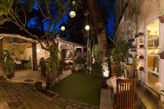 Our garden patio