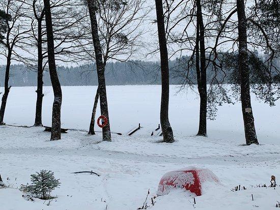 Moosach, Nemačka: Steinsee im Winter