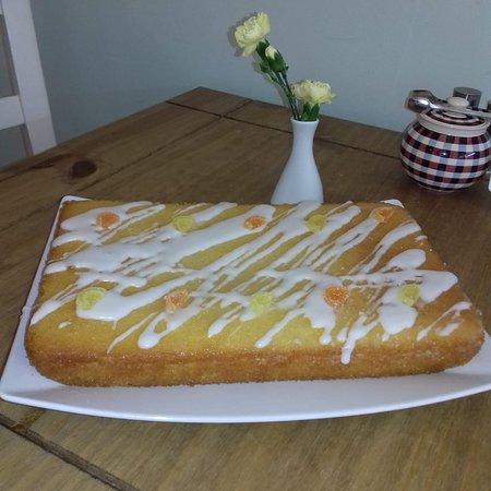 Gluten Free Lemon Cake 🍋