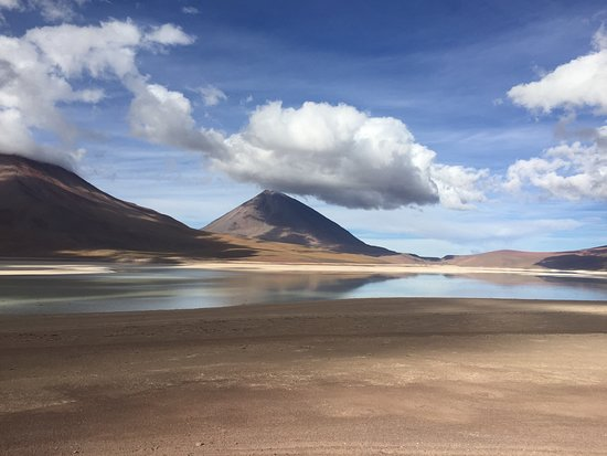Andes Salt Expeditions Tour Operator: Green lake