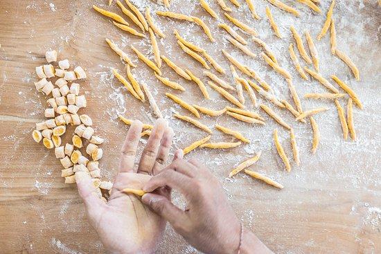 Handmade fresh pasta daily