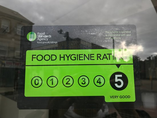 Well deserved 5* hygiene rating.