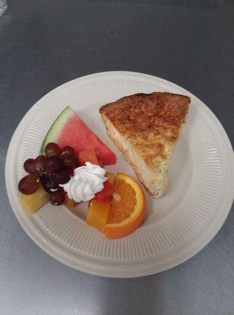 Oberlin, KS: Breakfast Quiche