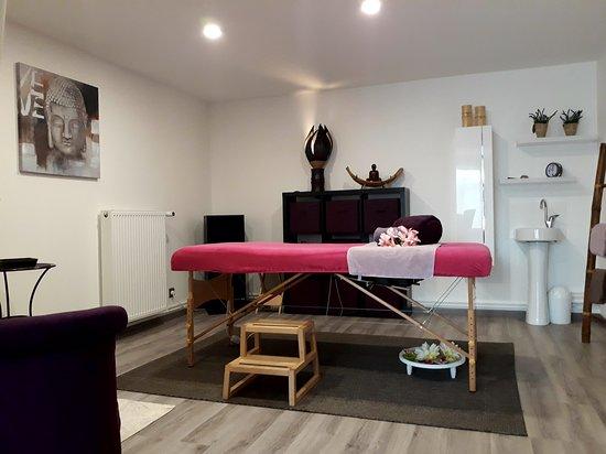 Villenoy, Francie: Espace de massage