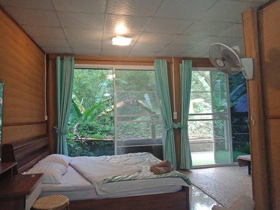 Amazing nature bedroom