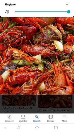 Port Barre, Louisiane : Crawfish