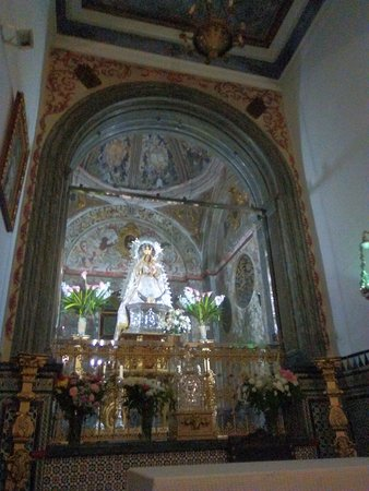 Palma Del Rio, Hiszpania: Interior de la ermita.