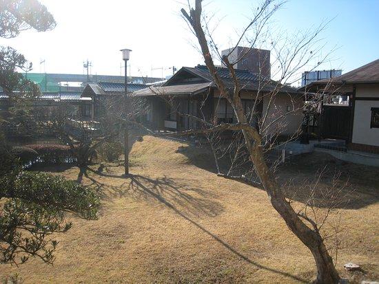 Kawatoyo Bekkan: 食事処からのお庭