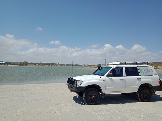 Geraldton, Australie: 4x4 at Greenough River