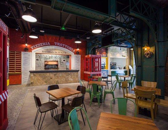 Degustation Food Station interior 1