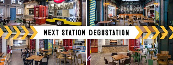 Degustation is a mix of 6 different cuisines.