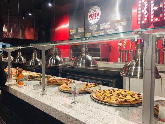 picture of crescent city pizza works new orleans tripadvisor rh tripadvisor com sicily pizza buffet new orleans