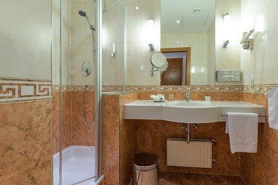 Hotel Kaiserhof Wien: Allergiker Einzelzimmer   Badezimmer - KAISERHOF WIEN