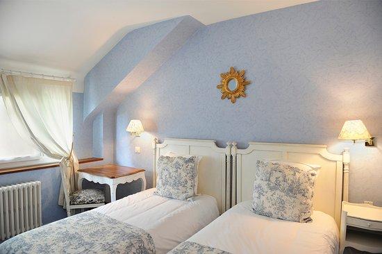 Saint-Jean-le-Blanc, ฝรั่งเศส: Chambre lits jumeaux