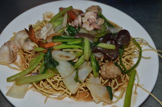 Kim Dy Restaurant: Seefood noodles