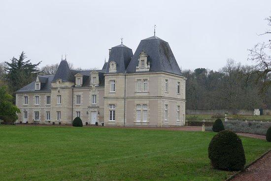 Chateau de Jalnay: Arrivée au château.