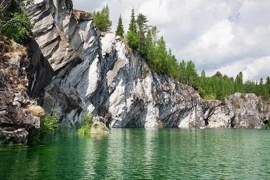 Ruskeala, Russia: Мраморный карьер в Рускеале, Карелия