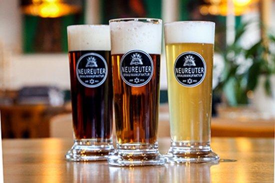 Stout, Ale und Weizen vom Feinsten ...