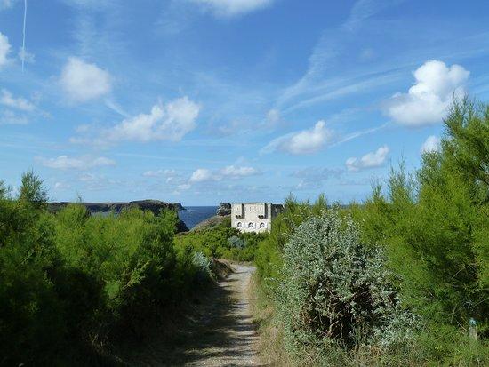 Belle-Ile-en-Mer, France : Pointe des poulains