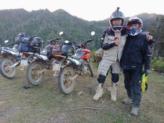 Rental Motorbike Vietnam - On the road
