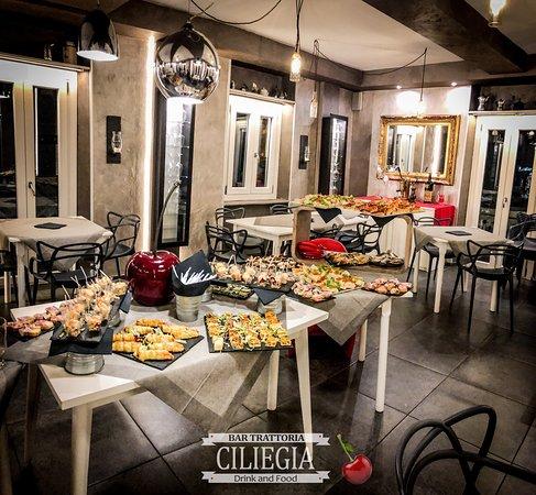 Ciliegia Drink & Food di Mancini Alessio: Hanno organizzato uno splendido aperitivo per mia moglie