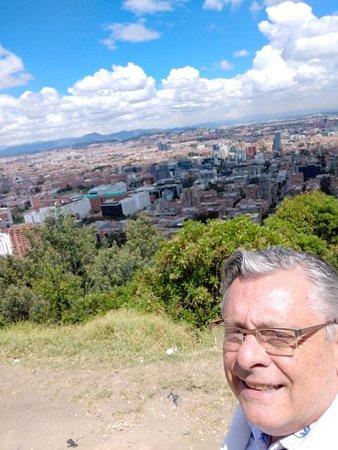 La Calera, Colombia: VISTA DE boGOTÁ de rodovia La Callera