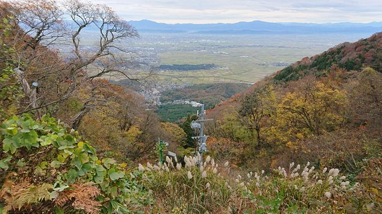 Niigata Prefecture, Japan: Another view down the mountain.