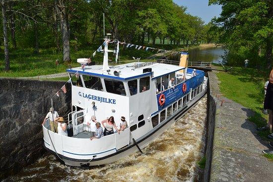 Räkbåten M/S Gustaf Lagerbjelke