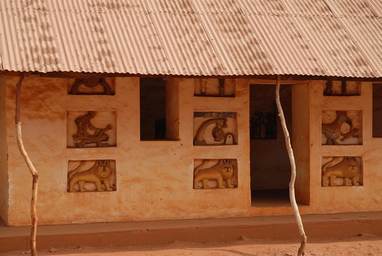 Abomey, Benin: palazzo