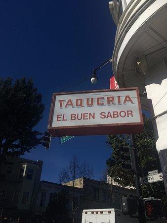 Taqueria el buen sabor - well named!