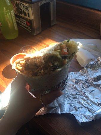 Taqueria El Buen Sabor: My pork burrito.