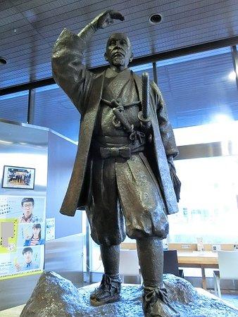 Shima Yoshitake Statue
