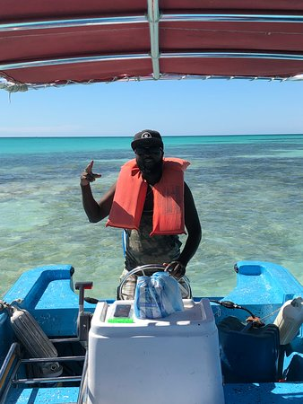 Isla Saona, Dominikai Köztársaság: Johnson! 
