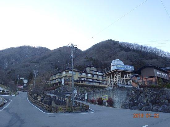 Hirugami Onsenkyo: 高台の温泉宿