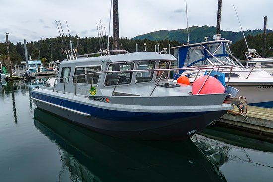 Seldovia, AK: Our kingfisher will get you to the fishing grounds fast!