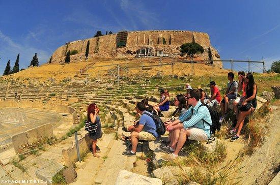 Balade en petit groupe à l'Acropole...