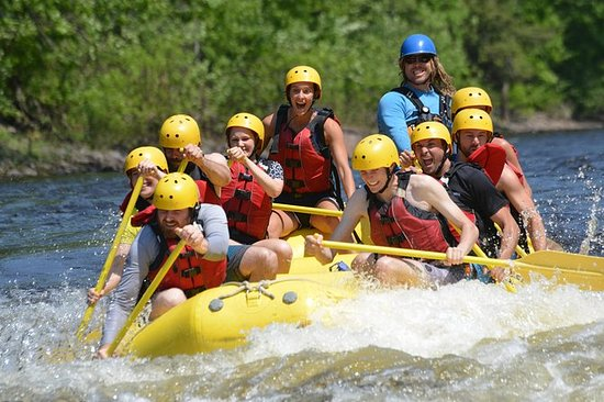 Half-Day White Water Rafting on the...