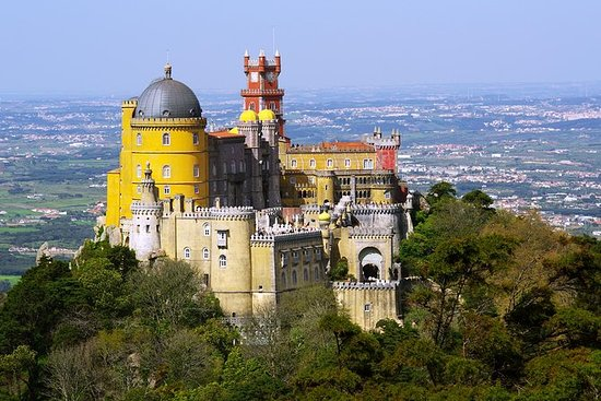 Full-Day Sintra Palaces Små Gruppetur...