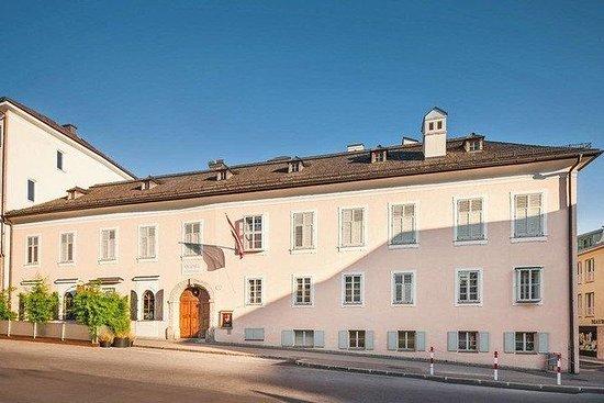 Ticket d'entrée à la résidence Mozart...