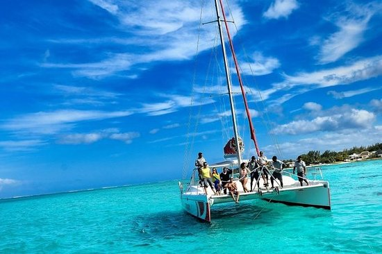 Catamaran Adventure Full Day: Ile aux ...