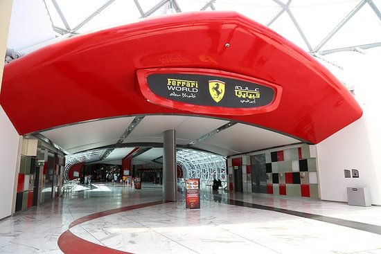 Inngangsbillett til Ferrari World i...