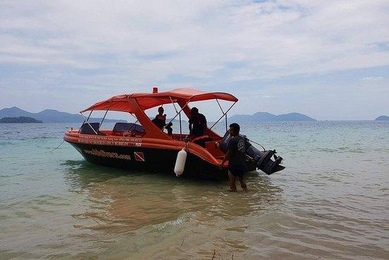 private speedboat trip, snorkeling...