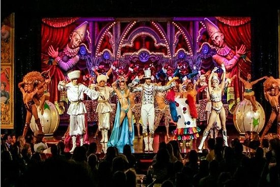 Dinner and Show at the Moulin Rouge - Menu Mistinguett