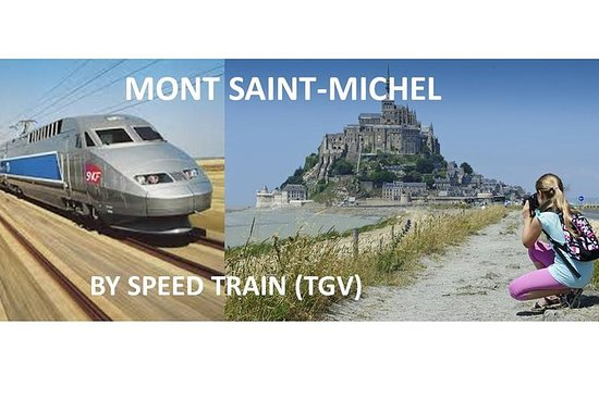 El legendario Mont-Saint-Michel...