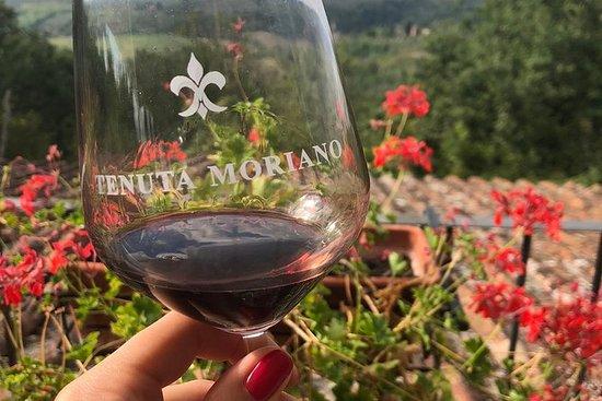Degustazione di vini a Tenuta Moriano