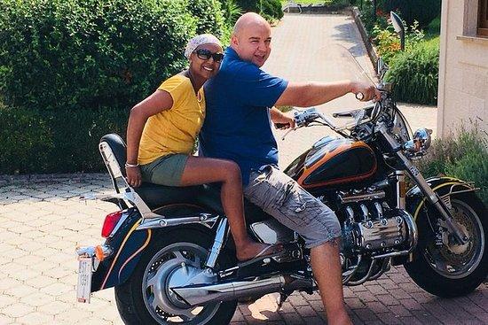 Motorsykkel bakruter Panoramisk tur...
