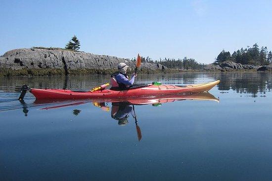 Randonnée combinée avec kayak de mer