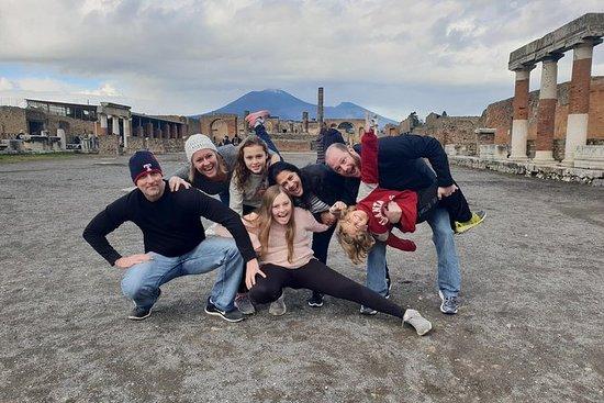 Pompeii, Herculaneum og vinopplevelse...