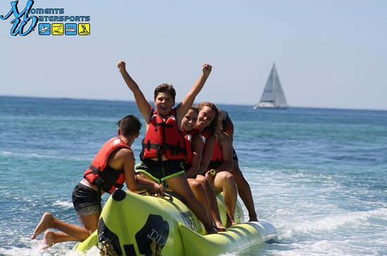 Promenade en bateau banane, Algarve...